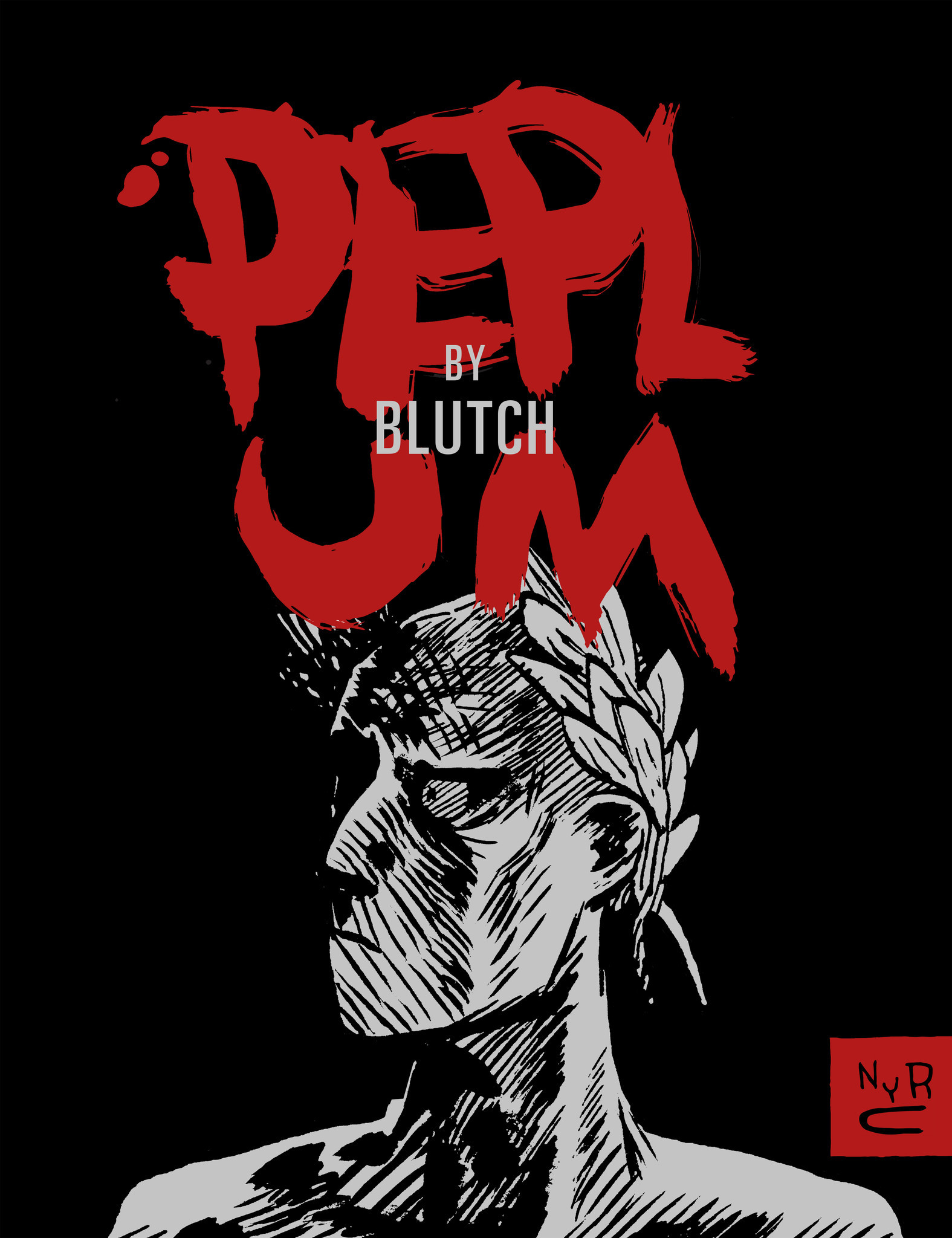 Blutch's landmark graphic novel Peplum, published in English by New York Review Comics, 2016 (original French edition by Cornélius, 1997).