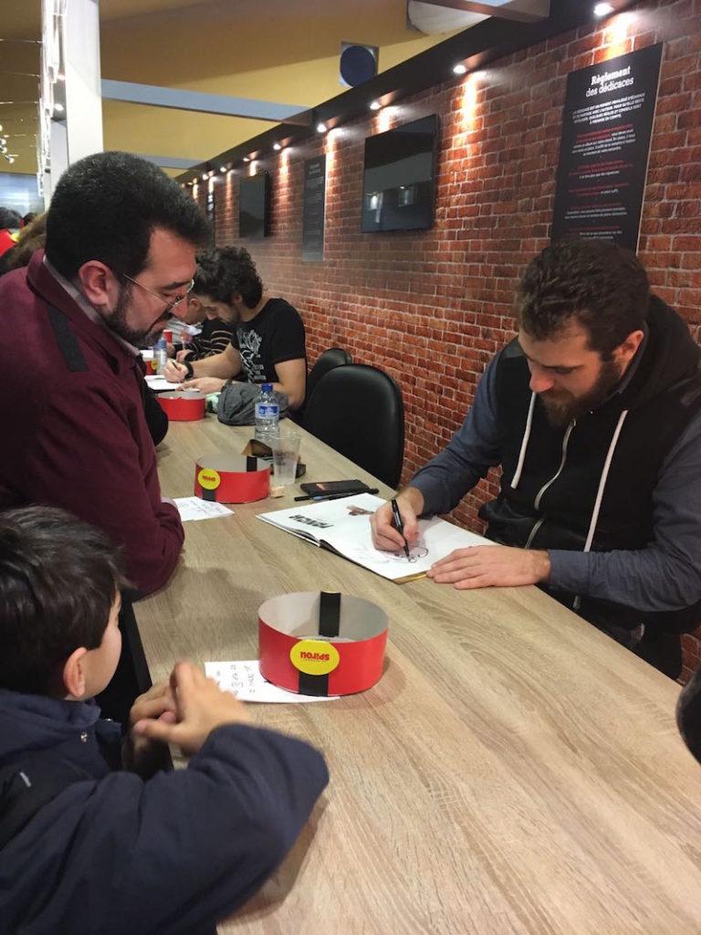 Angoulême 2018 Interviews: Brice Cossu and Olivier Bocquet