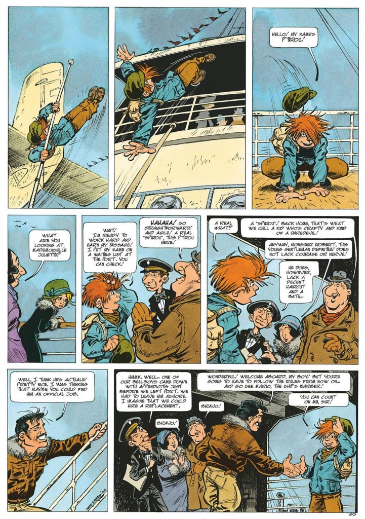 80 Years Young: The Everlasting Youth of Spirou - Europe Comics