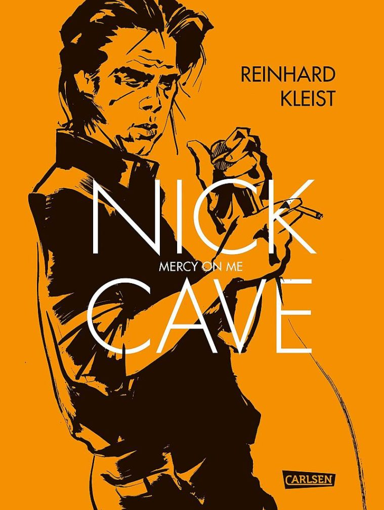 """Nick Cave, Mercy on Me"" by Reinhard Kleist (Carlsen Verlag)"