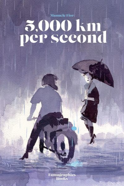 """""""5,000 KM Per Second,"""" by Manuele Fior, translated by Jamie Richards (Atrabile; Fantagraphics in English)."""
