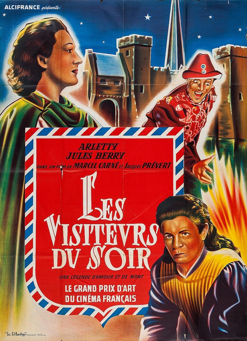 """Michel Carné's """"Les Visiteurs du soir"""" (""""The Devil's Envoys""""), a medieval allegory that inspired young Peyo."""