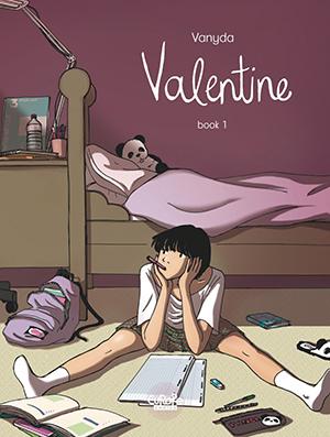 Valentine Comicbook Cover