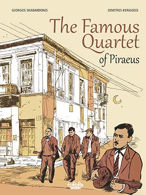The Famous Quartet of Piraeus Cover Comics Graphic Novel