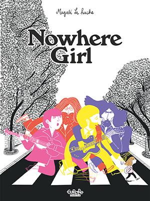 No Where Girl Comcis cover