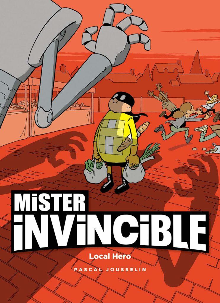 Mister Invincible Europe Comics Magnetic Eisner Nominee