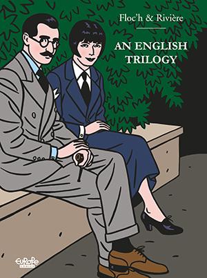 An English Trilogy Riviére Floc'h Comics Graphic Novel Ligne Clair