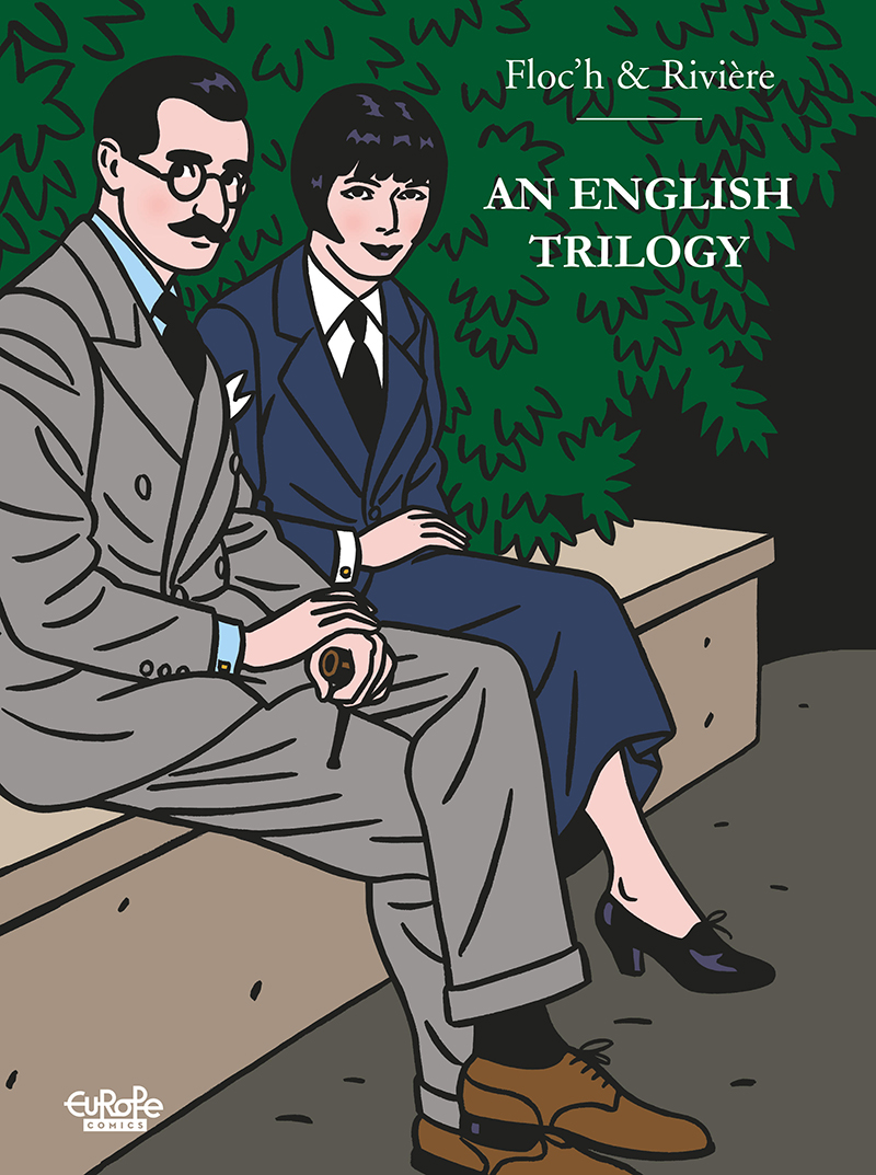 An English Trilogy comics comicbook cover by Floc'h and Riviére