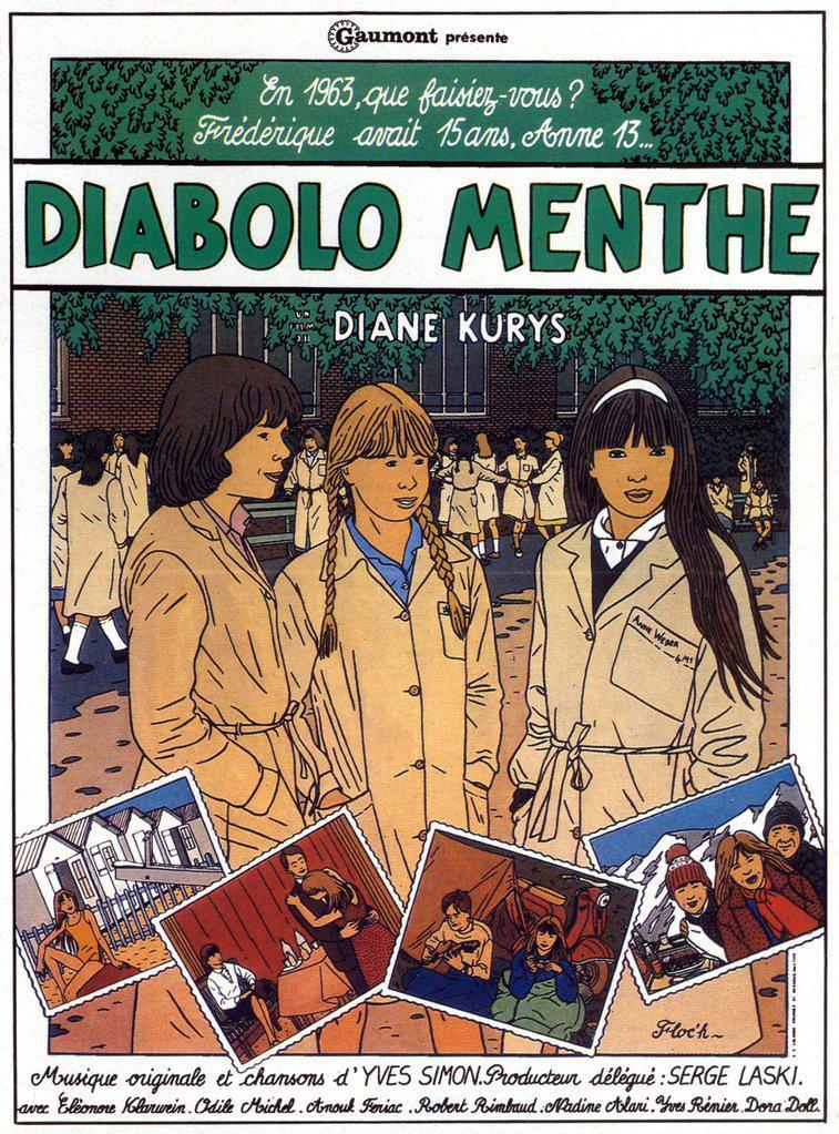 Diabolo Menther Comics Poster Film Floc'h