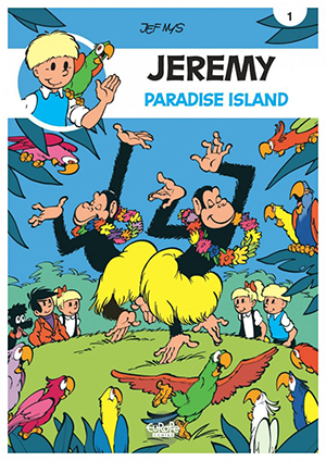 Jeremy Cover Comics Comicbook