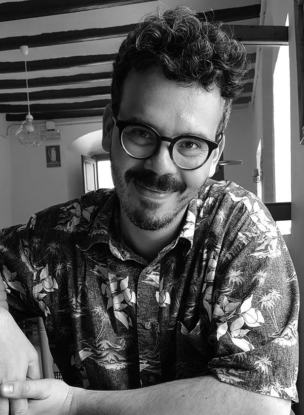 Alex Fuentes comics creator Lost in the Future comic books graphic novels