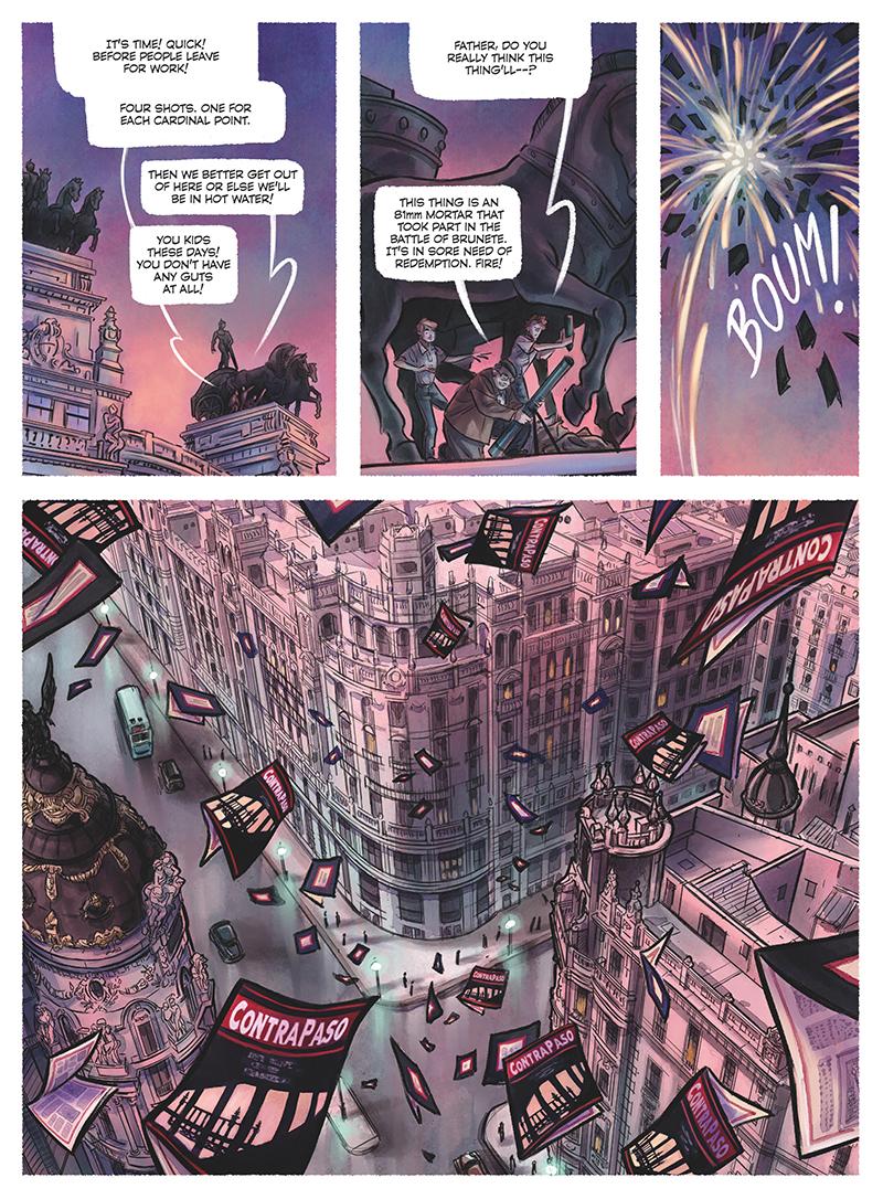 Contrapaso Teresa Valero Comics Comic Book Graphic Novel