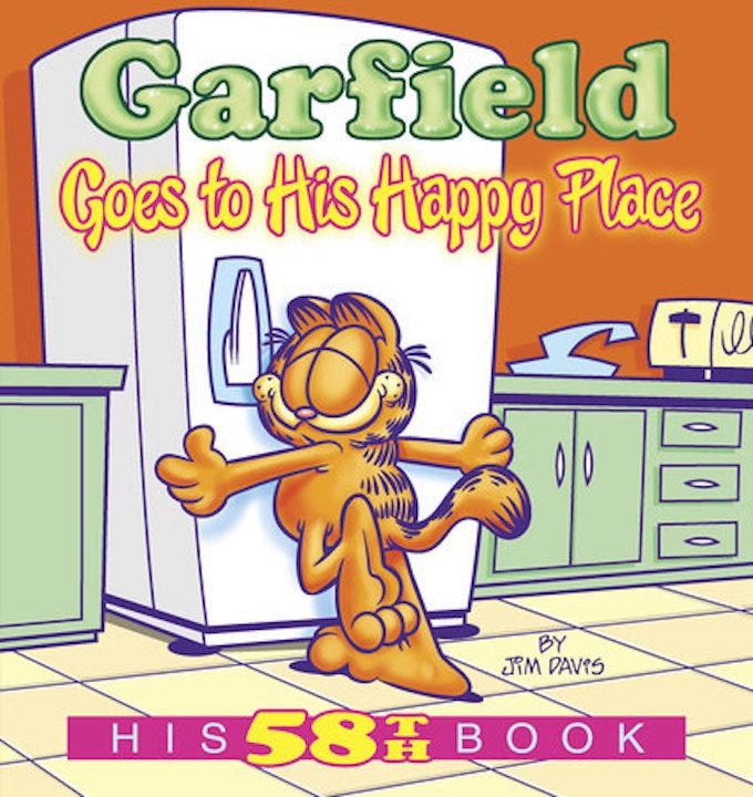 Garfield cover Europe Comics