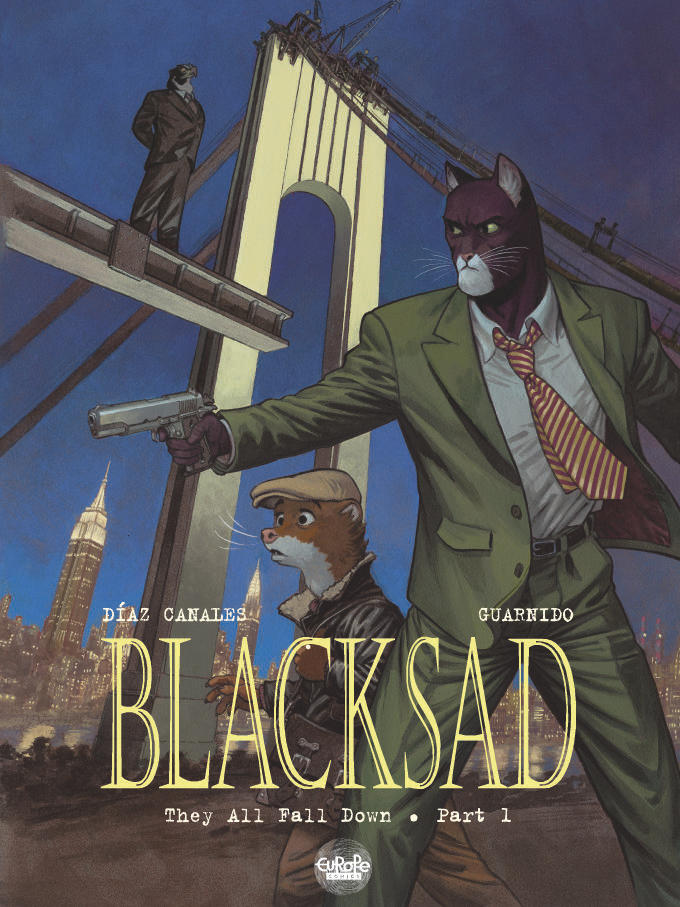 Blacksad V6 Europe Comicd