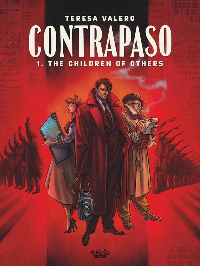 Cover of Contrapaso Comics Comic Book Graphic Novel Artist Creator Writer Teresa Valero