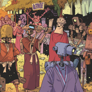 Robots and Androids reading list comics comicbooks graphic novels yojimbot