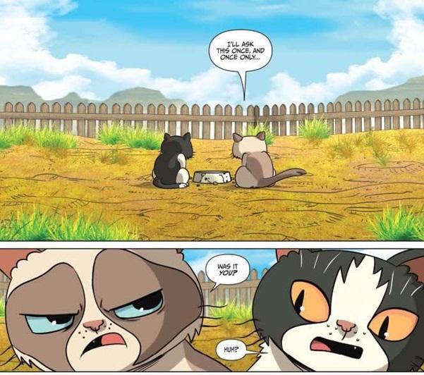 Grumpy Cat Europe Comics