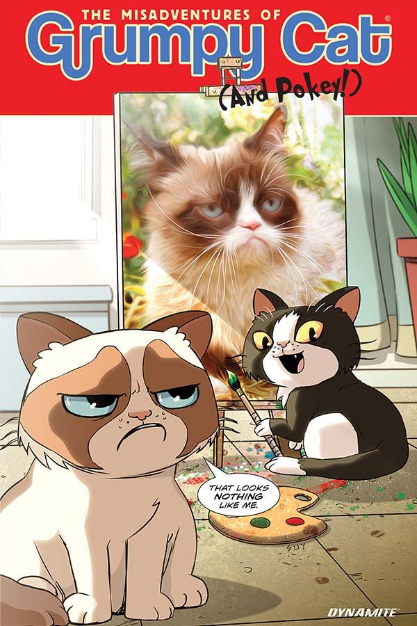Grumpy Cat Comics Europe Comics