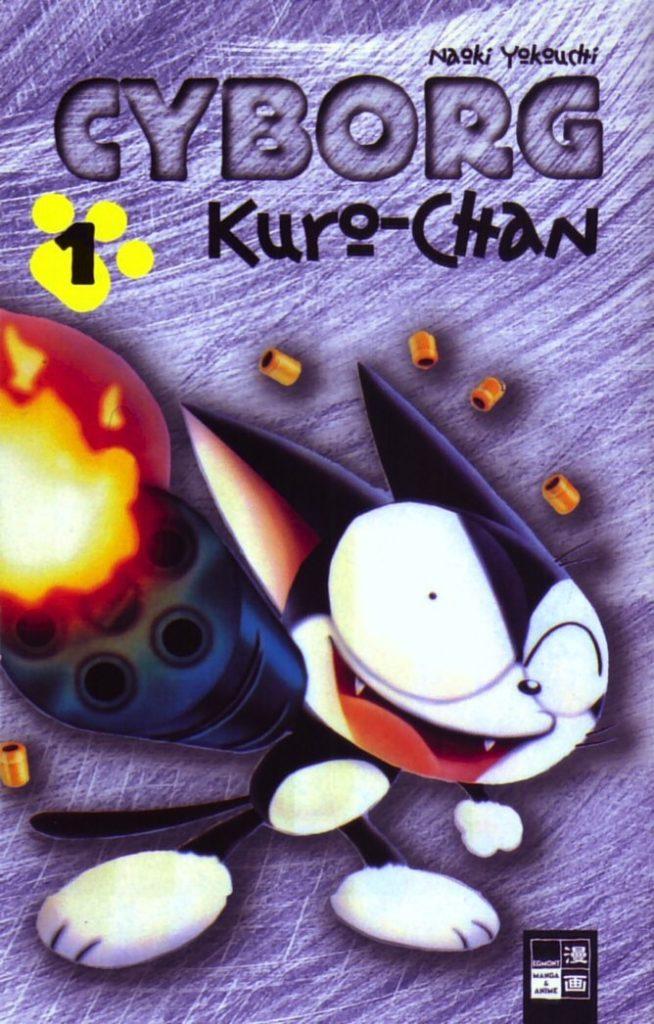 Cyborg Kuro-chan cover Europe Comics