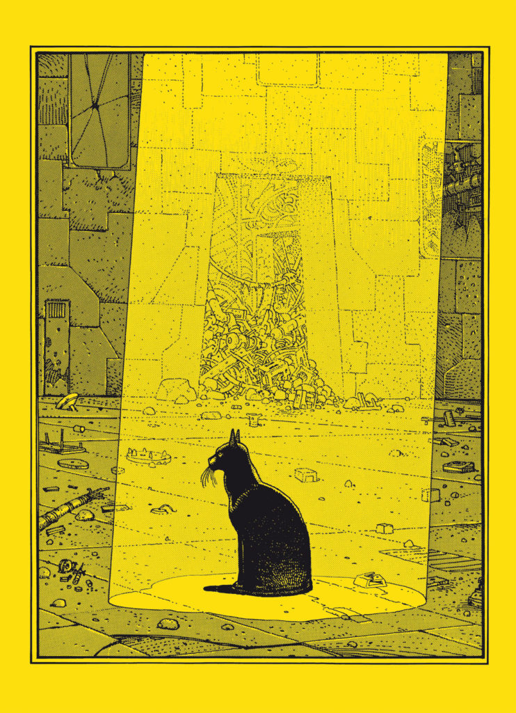 the eyes of the cat humanoids europe comics