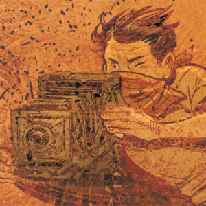 Days of Sand comics comic book graphic novel by creator artist author Aimée de Jongh book trailer